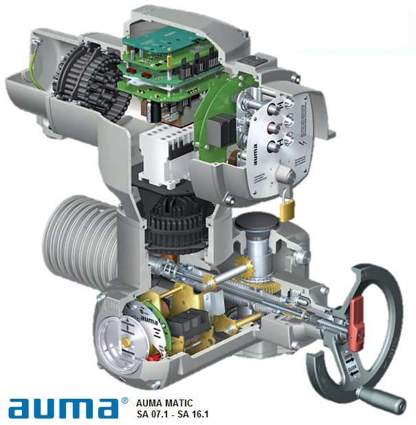 Auma Motorised Valve Wiring Diagram